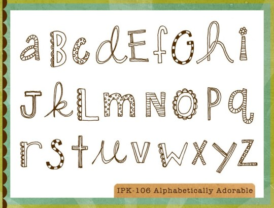 106ALPHABETICALLY ADORABLE